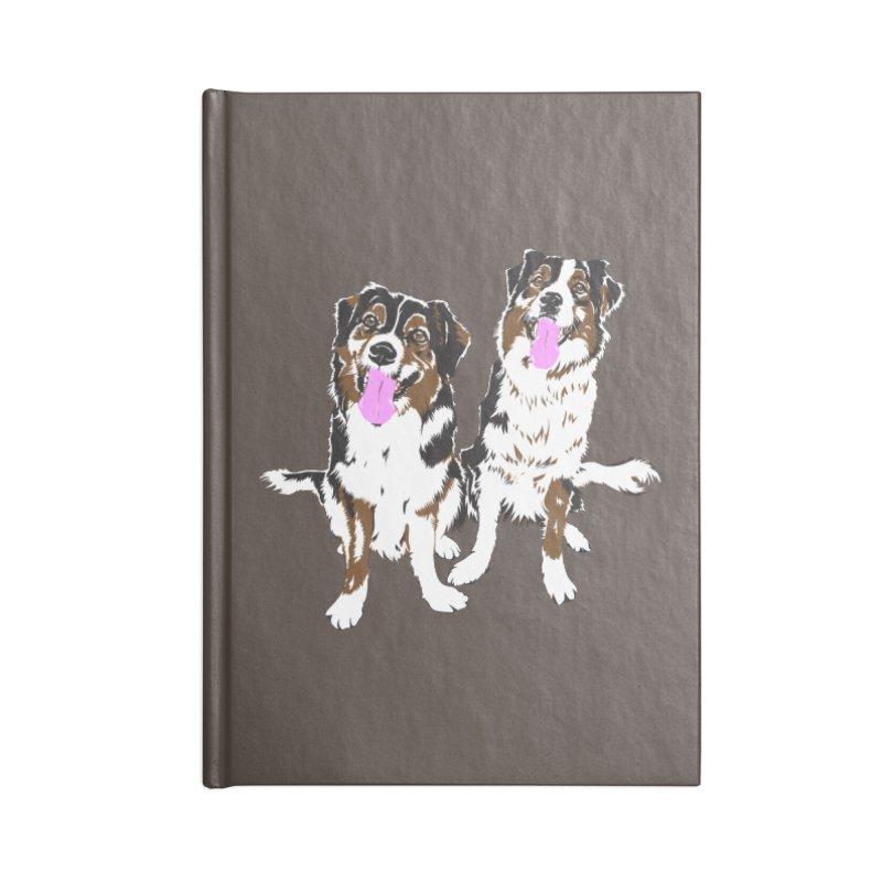 Half & Tilu Accessories Notebook by Dror Miler's Artist Shop