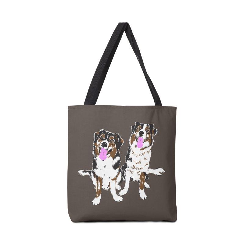 Half & Tilu Accessories Bag by Dror Miler's Artist Shop