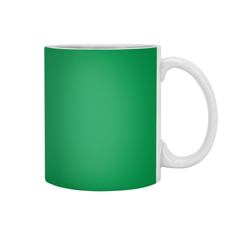 Half & Tilu - Green BG Accessories Mug by Dror Miler's Artist Shop