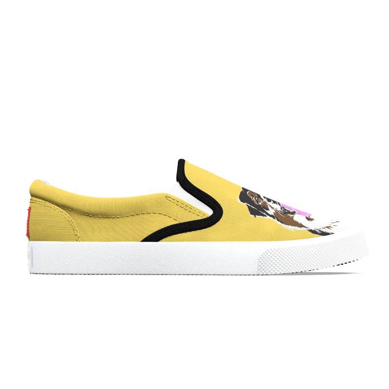 Half & Tilu - Green BG Women's Shoes by Dror Miler's Artist Shop
