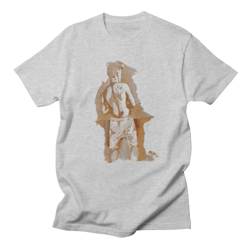 Smoking guy Women's Unisex T-Shirt by Dror Miler's Artist Shop
