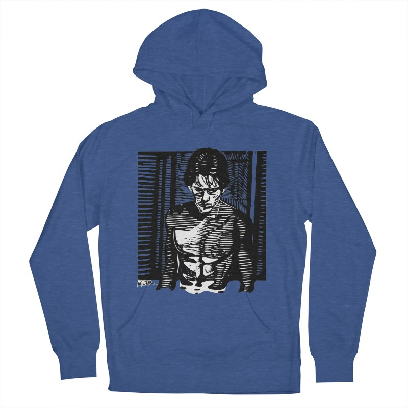 Rusty James Men's Pullover Hoody by Dror Miler's Artist Shop