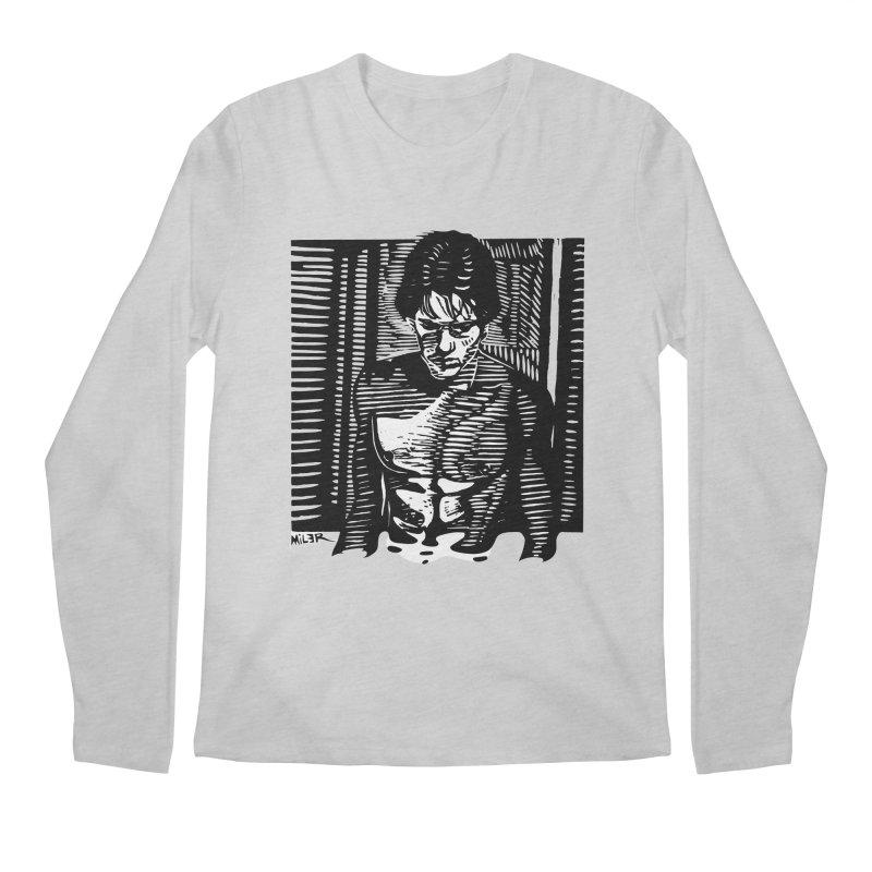Rusty James Men's Longsleeve T-Shirt by Dror Miler's Artist Shop
