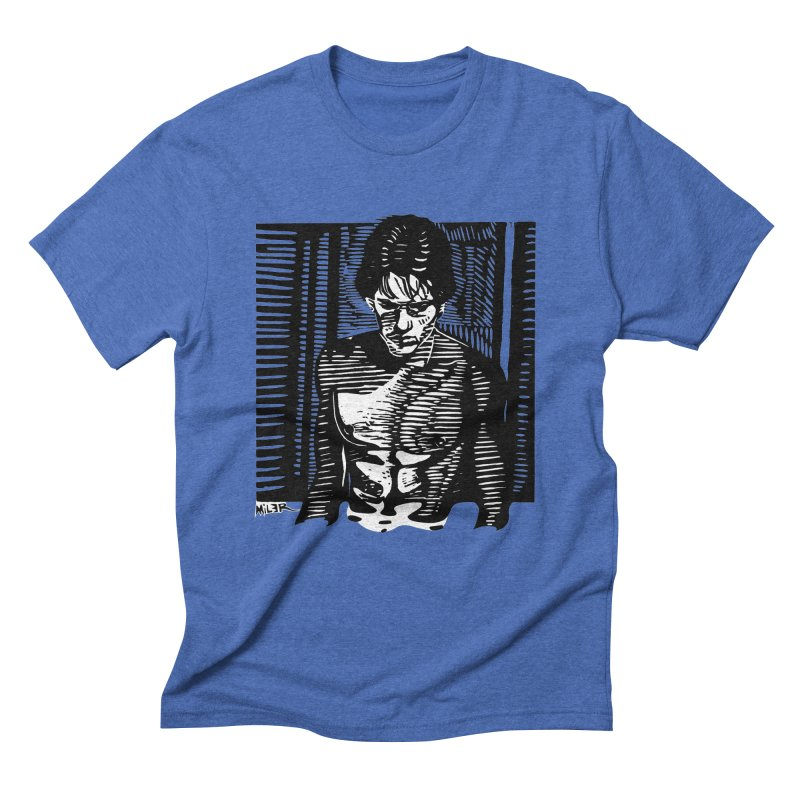 Rusty James Men's Triblend T-Shirt by Dror Miler's Artist Shop
