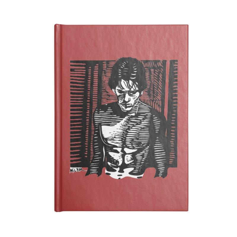 Rusty James Accessories Notebook by Dror Miler's Artist Shop