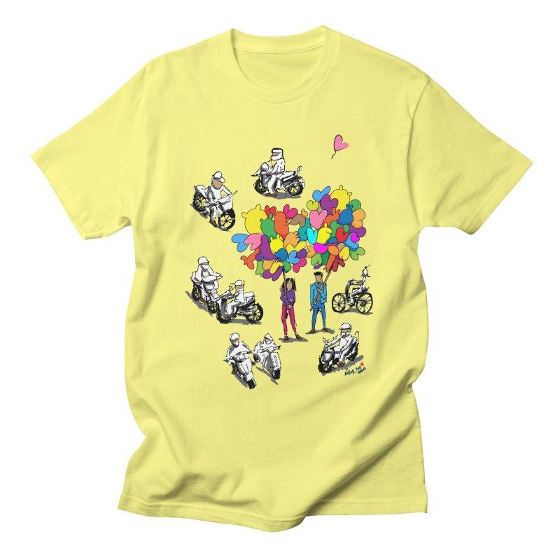 Hanoi Circle Mess Men's T-Shirt by Dror Miler's Artist Shop