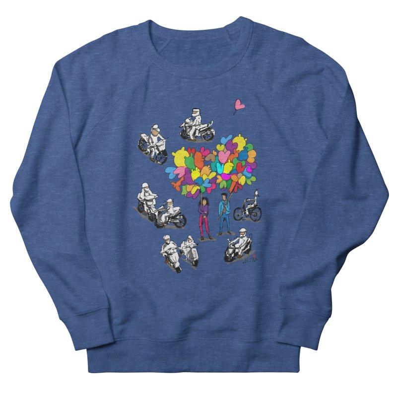 Hanoi Circle Mess Men's Sweatshirt by Dror Miler's Artist Shop