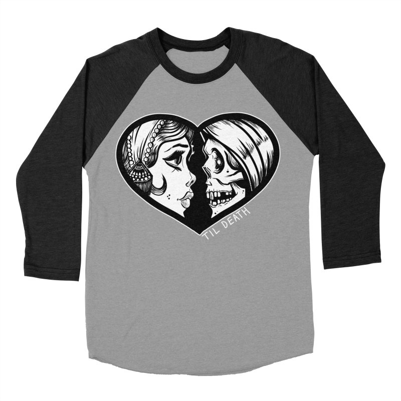 'Til Death Women's Baseball Triblend T-Shirt by Dro