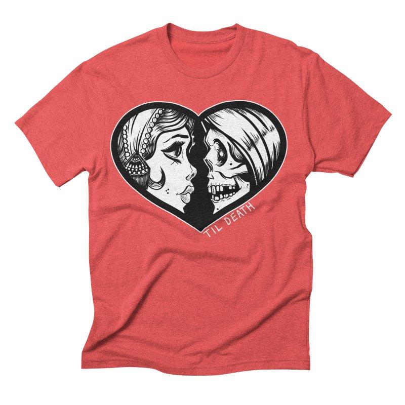 'Til Death Men's Triblend T-shirt by Dro