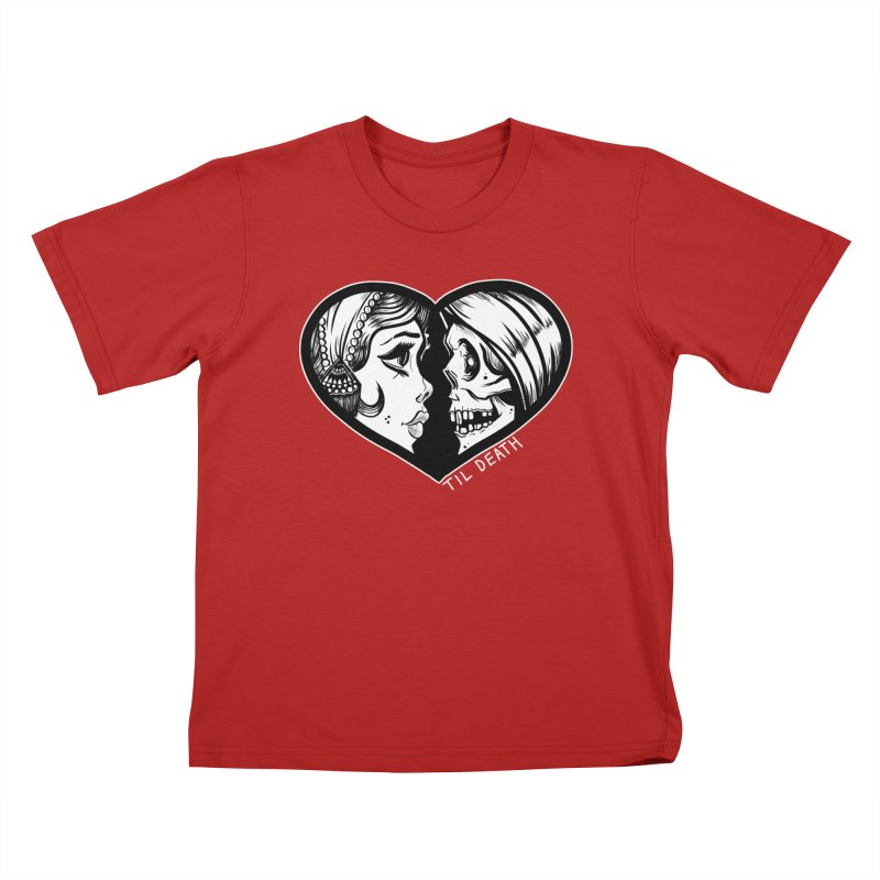 'Til Death Kids T-shirt by Dro