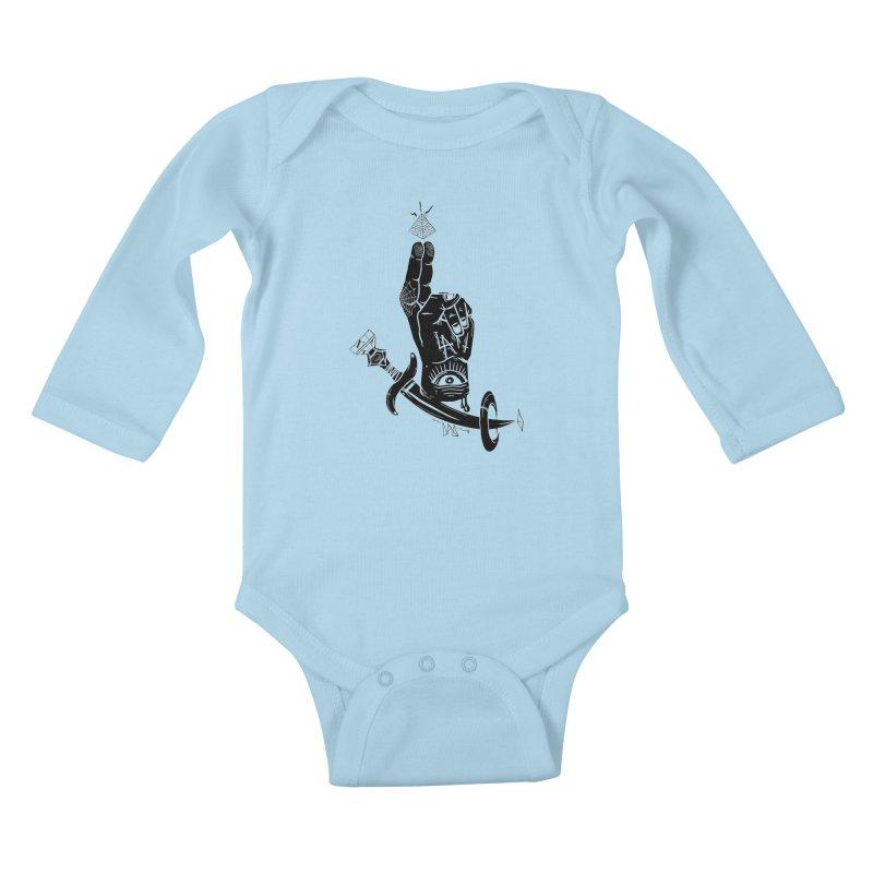 Annoint  Kids Baby Longsleeve Bodysuit by Dro