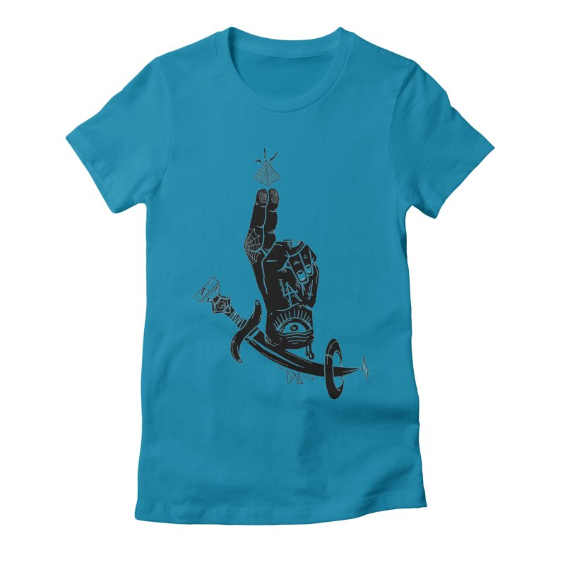 Annoint  Women's Fitted T-Shirt by Dro