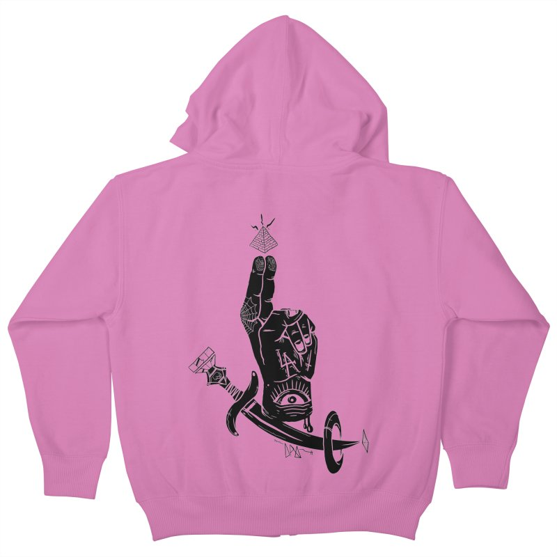 Annoint  Kids Zip-Up Hoody by Dro