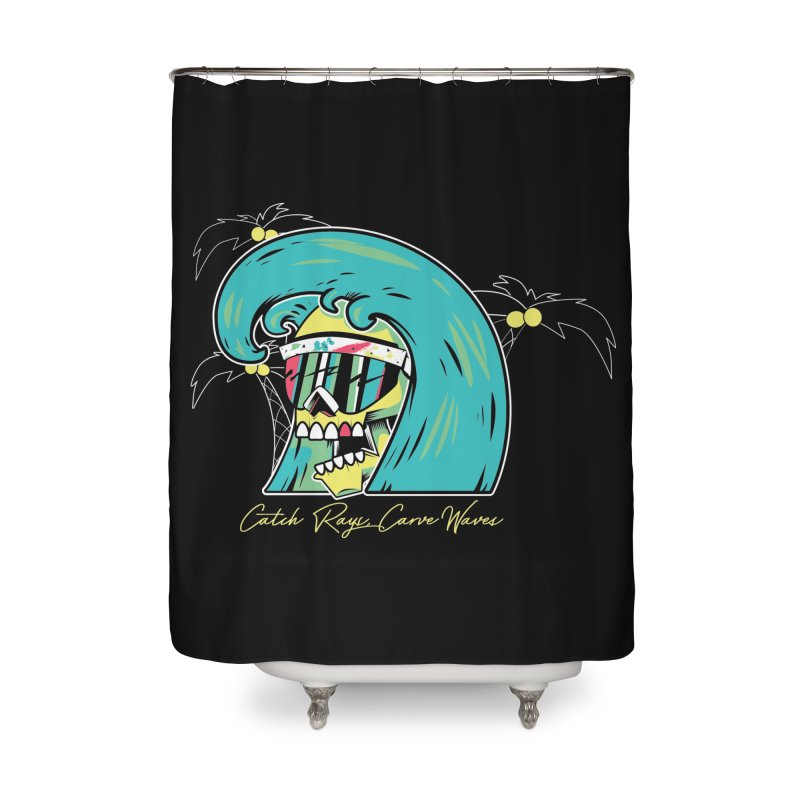 Summer Soul Open  Home Shower Curtain by Dro