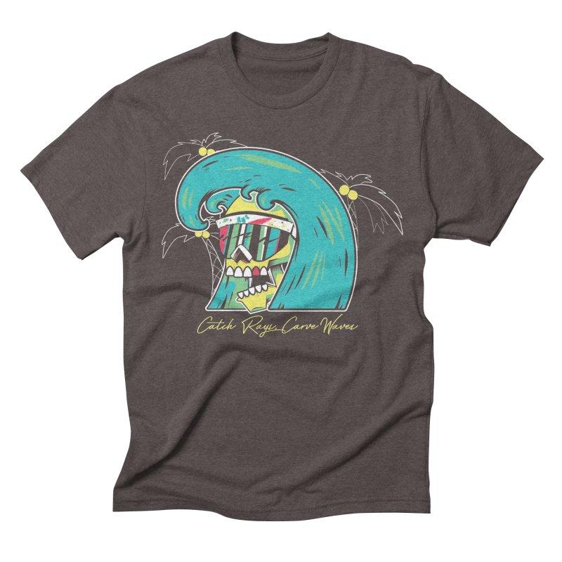 Summer Soul Open  Men's Triblend T-shirt by Dro