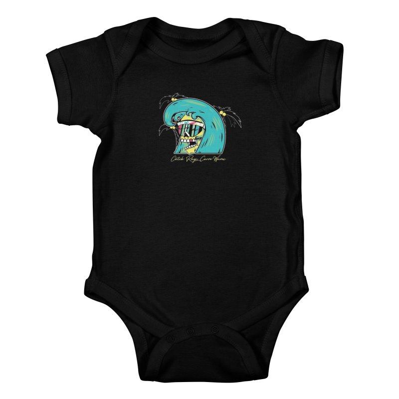 Summer Soul Open  Kids Baby Bodysuit by Dro