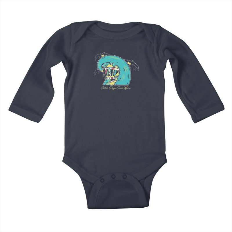 Summer Soul Open  Kids Baby Longsleeve Bodysuit by Dro