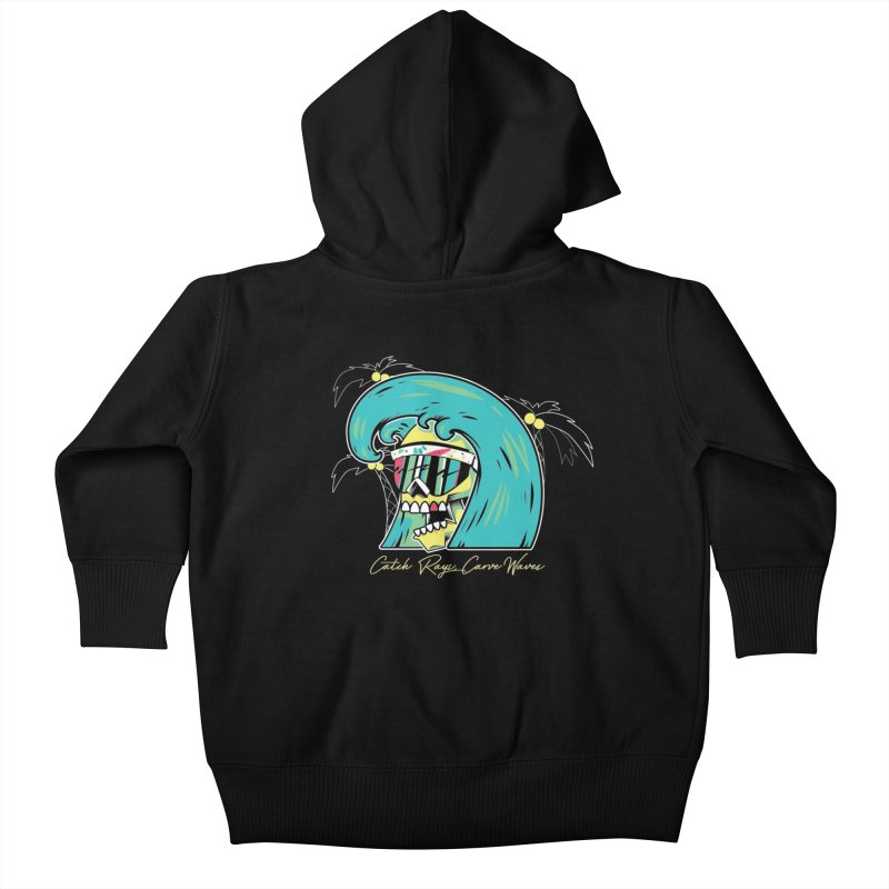 Summer Soul Open  Kids Baby Zip-Up Hoody by Dro