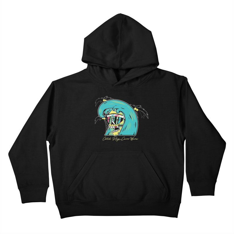 Summer Soul Open  Kids Pullover Hoody by Dro