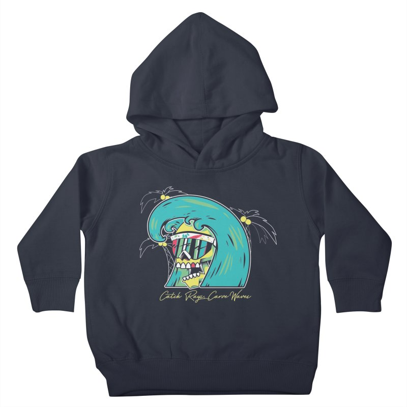 Summer Soul Open  Kids Toddler Pullover Hoody by Dro