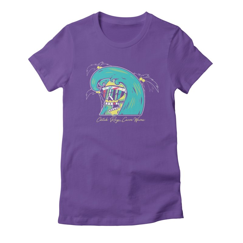 Summer Soul Open  Women's Fitted T-Shirt by Dro