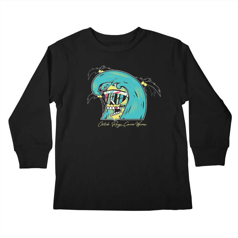 Summer Soul Open  Kids Longsleeve T-Shirt by Dro