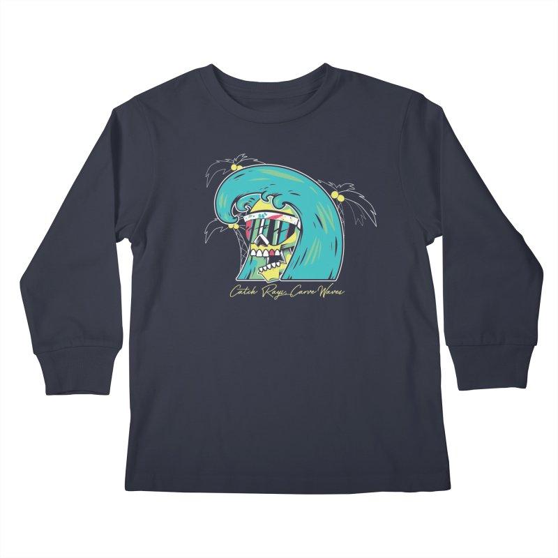 Summer Soul Open  Kids Longsleeve T-Shirt by Dro