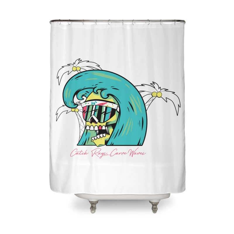 Summer Soul Open 2 Home Shower Curtain by Dro