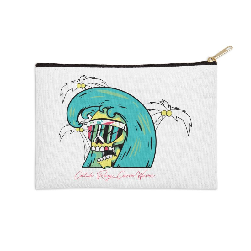 Summer Soul Open 2 Accessories Zip Pouch by Dro
