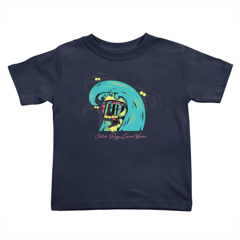 Summer Soul Open 2 Kids Toddler T-Shirt by Dro