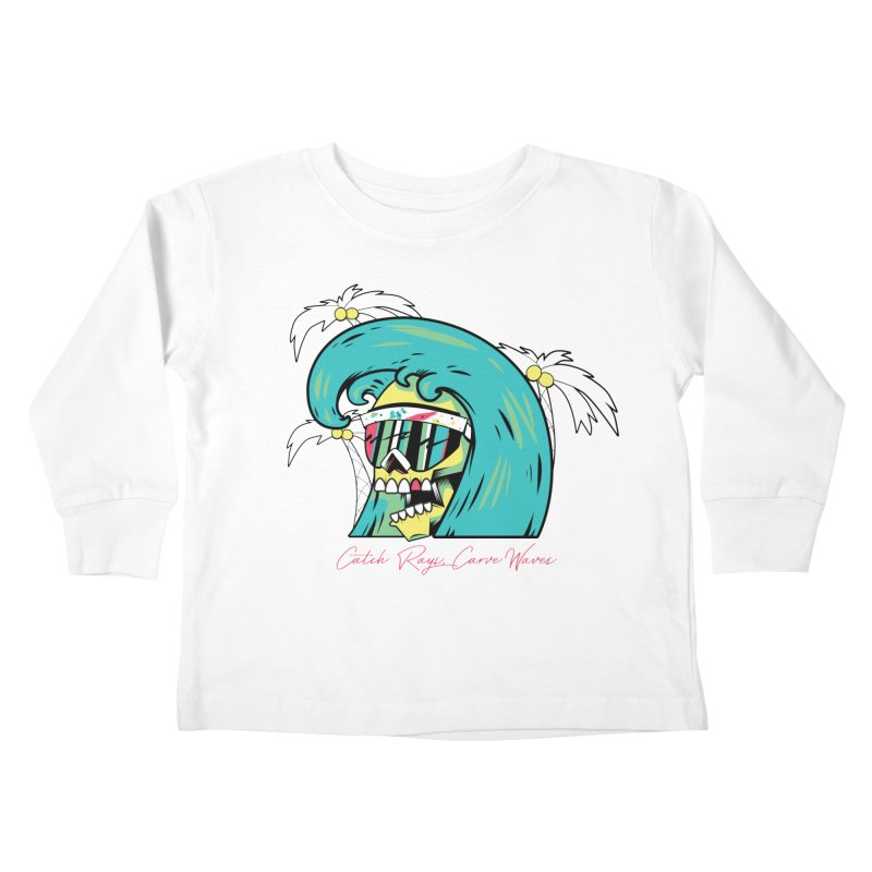 Summer Soul Open 2 Kids Toddler Longsleeve T-Shirt by Dro