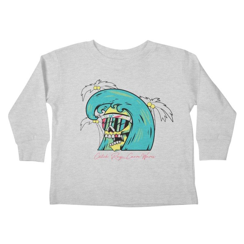 Summer Soul Open 2 Kids Toddler Longsleeve T-Shirt by Dro