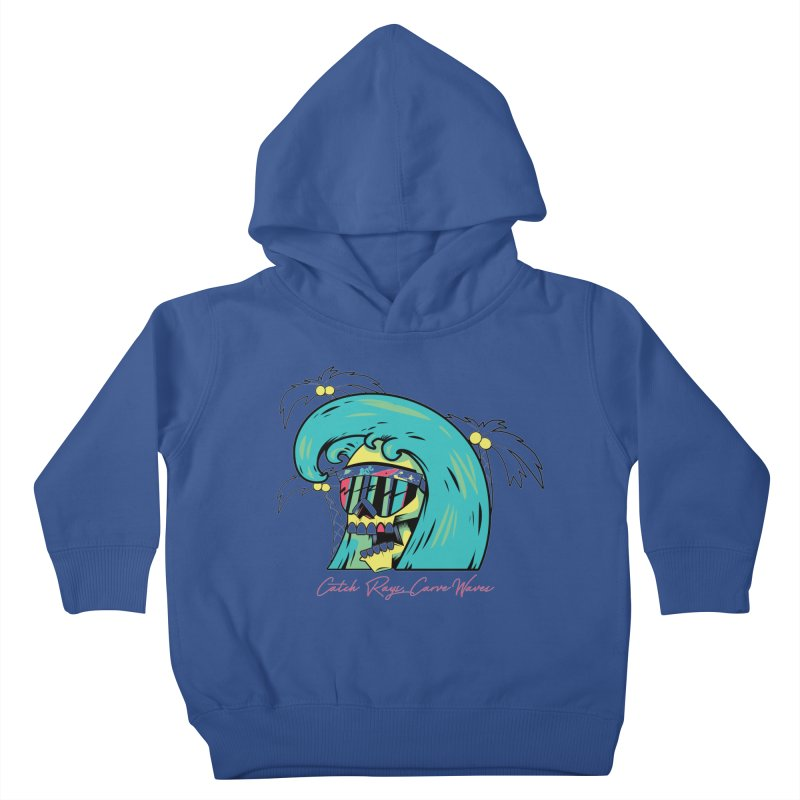 Summer Soul Open 2 Kids Toddler Pullover Hoody by Dro