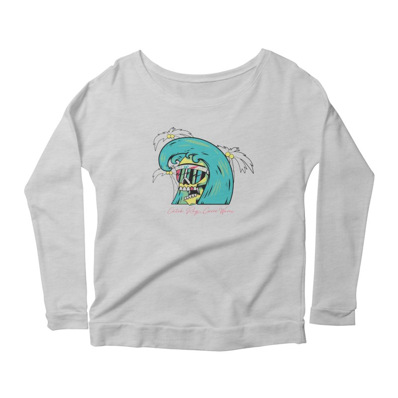 Summer Soul Open 2 Women's Longsleeve Scoopneck  by Dro