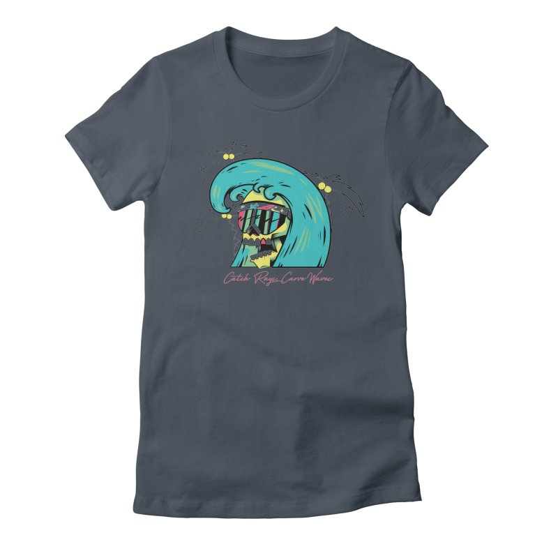 Summer Soul Open 2 Women's Fitted T-Shirt by Dro