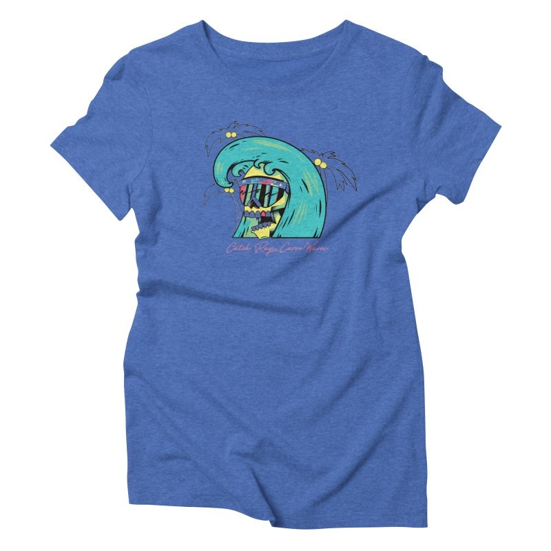 Summer Soul Open 2 Women's Triblend T-shirt by Dro