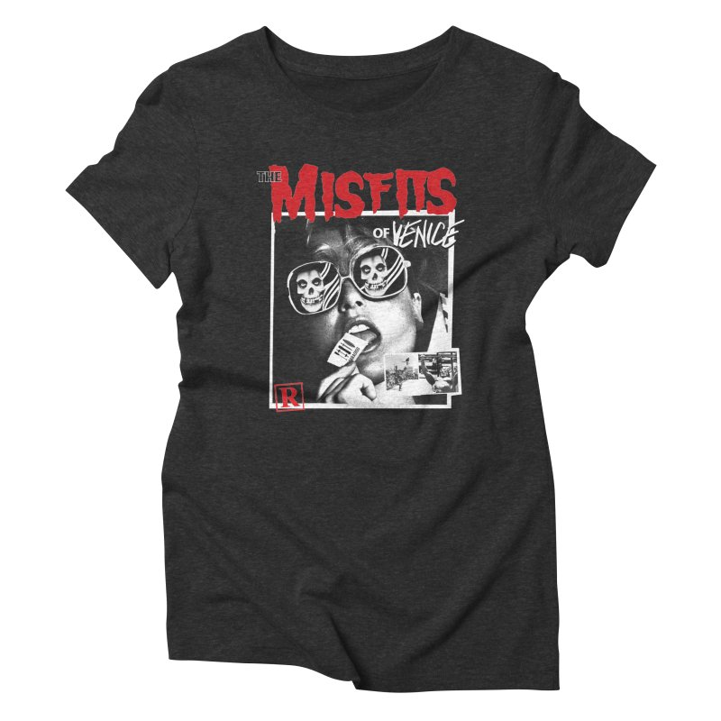 Misfits of Venice Women's Triblend T-Shirt by Dro