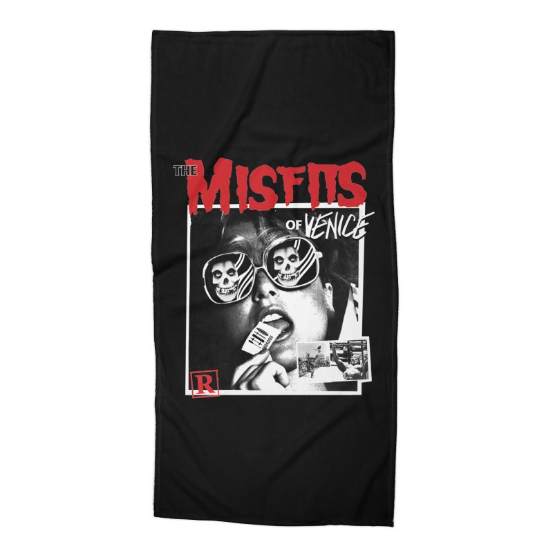 Misfits of Venice Accessories Beach Towel by Dro
