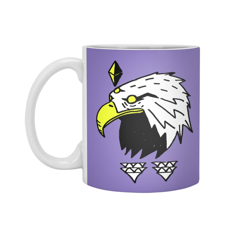77 Eagle Accessories Mug by Ertito Montana