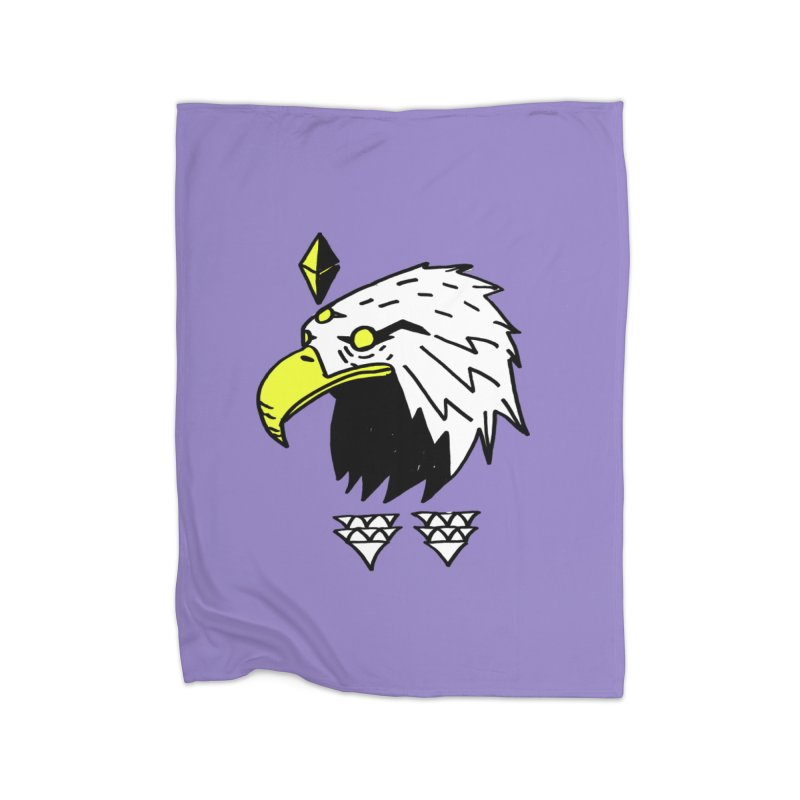 77 Eagle Home Fleece Blanket Blanket by Ertito Montana