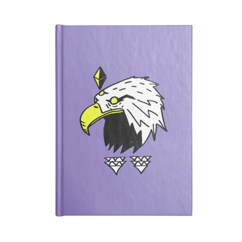 77 Eagle Accessories Blank Journal Notebook by Ertito Montana