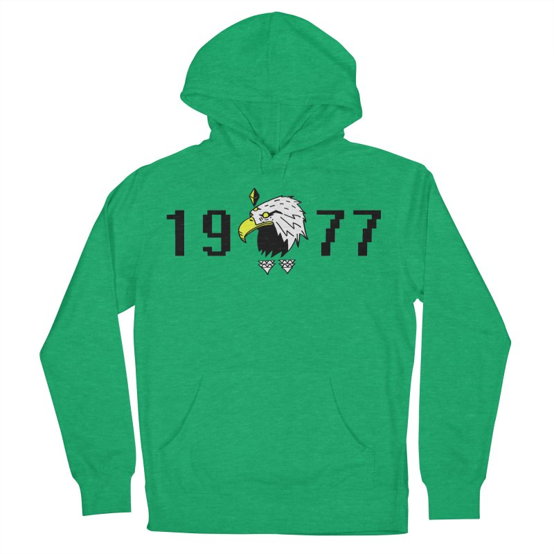 77 Eagle Women's Pullover Hoody by Ertito Montana