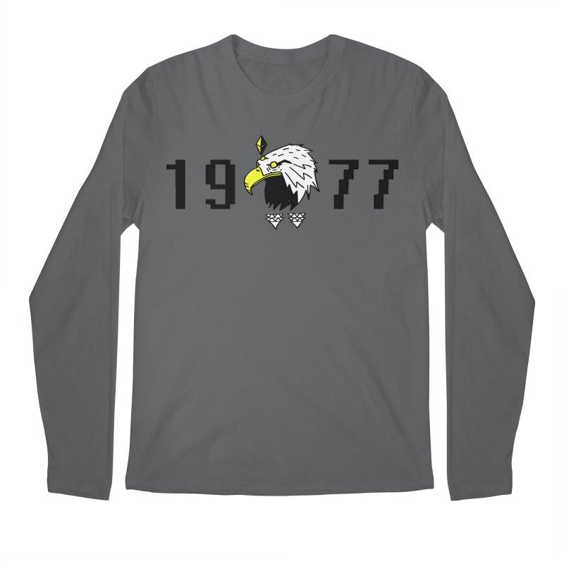 77 Eagle Men's Longsleeve T-Shirt by Ertito Montana