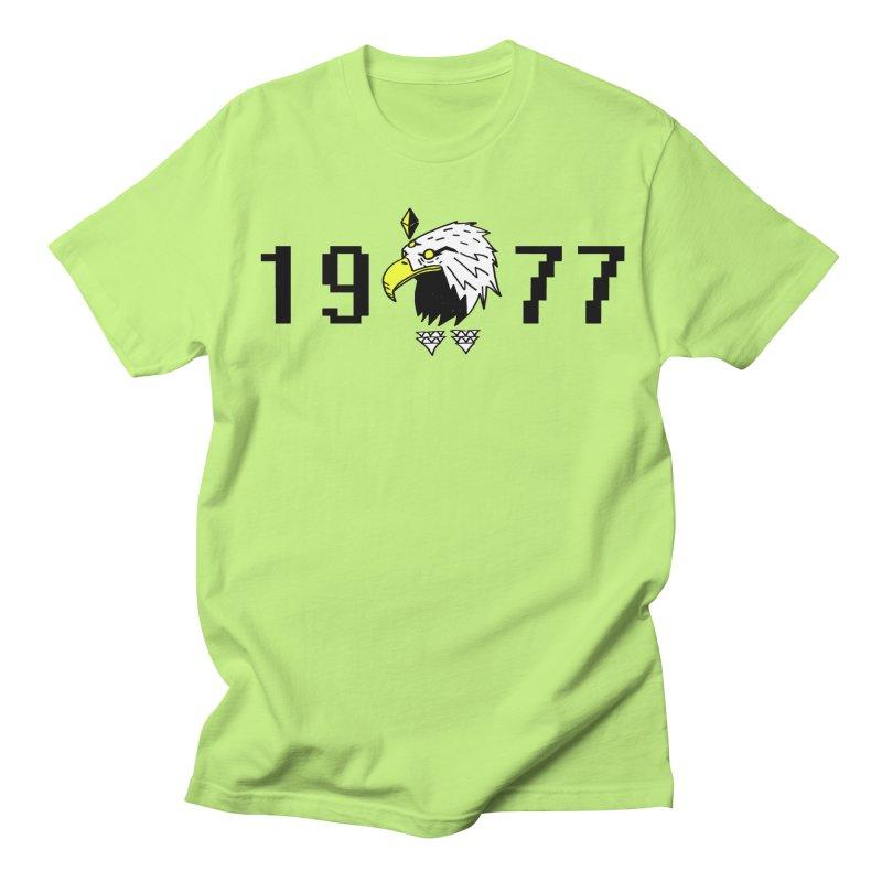 77 Eagle Men's T-shirt by Ertito Montana