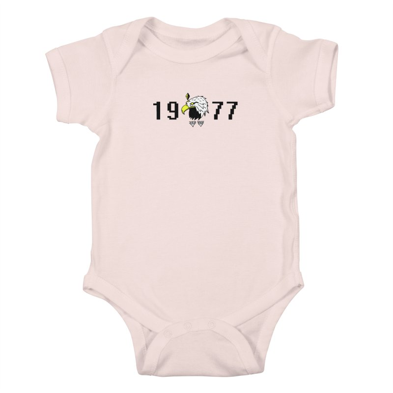 77 Eagle Kids Baby Bodysuit by Ertito Montana