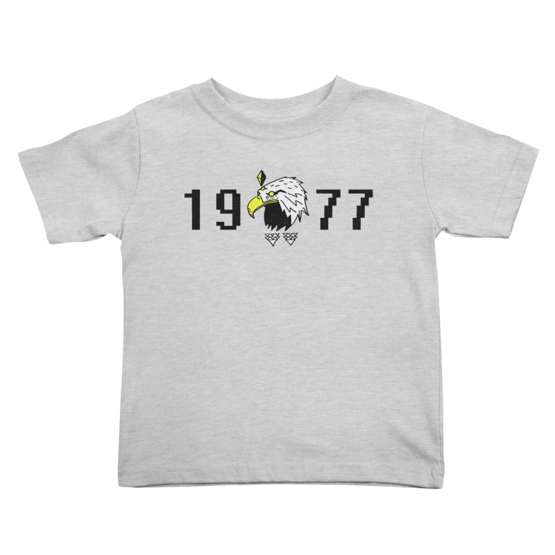 77 Eagle Kids Toddler T-Shirt by Ertito Montana
