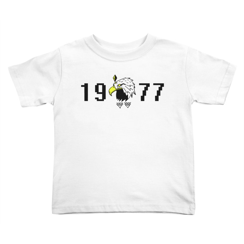 77 Eagle Kids Toddler T-Shirt by Ertito Montana