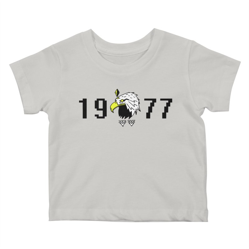 77 Eagle Kids Baby T-Shirt by Ertito Montana