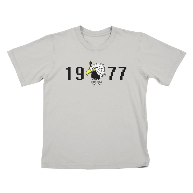 77 Eagle Kids T-Shirt by Ertito Montana