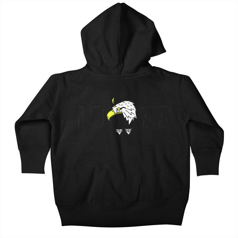 77 Eagle Kids Baby Zip-Up Hoody by Ertito Montana